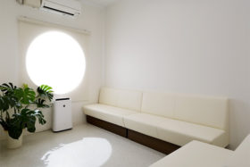 特別室(感染隔離待合室)の写真