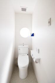 特別室(感染隔離室トイレ)の写真