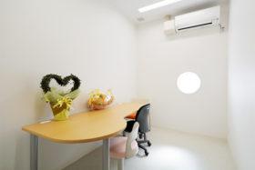 特別室(感染隔離室)の写真
