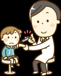 ワクチン接種イラスト